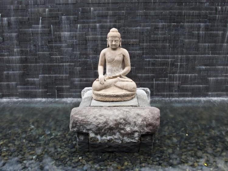 Buddha-at-Water-Wall-