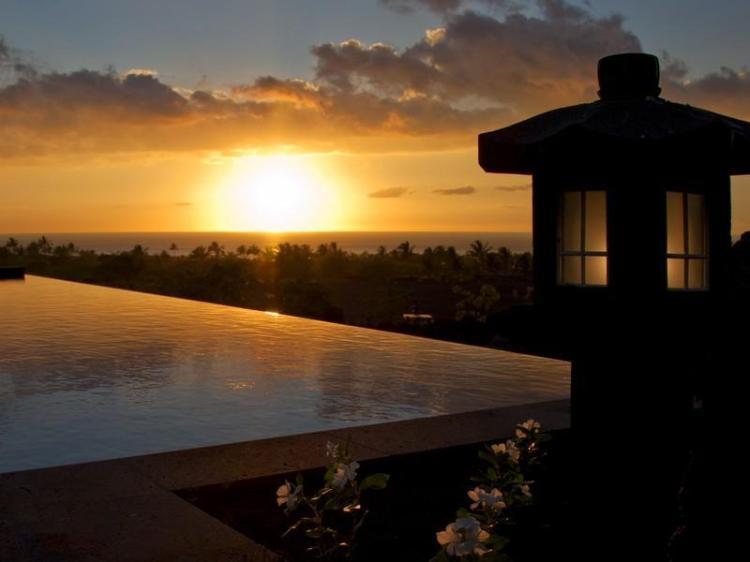 Sunset-at-Swimming-Pool-